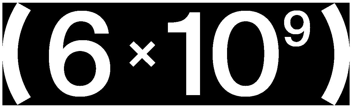 6x10^9