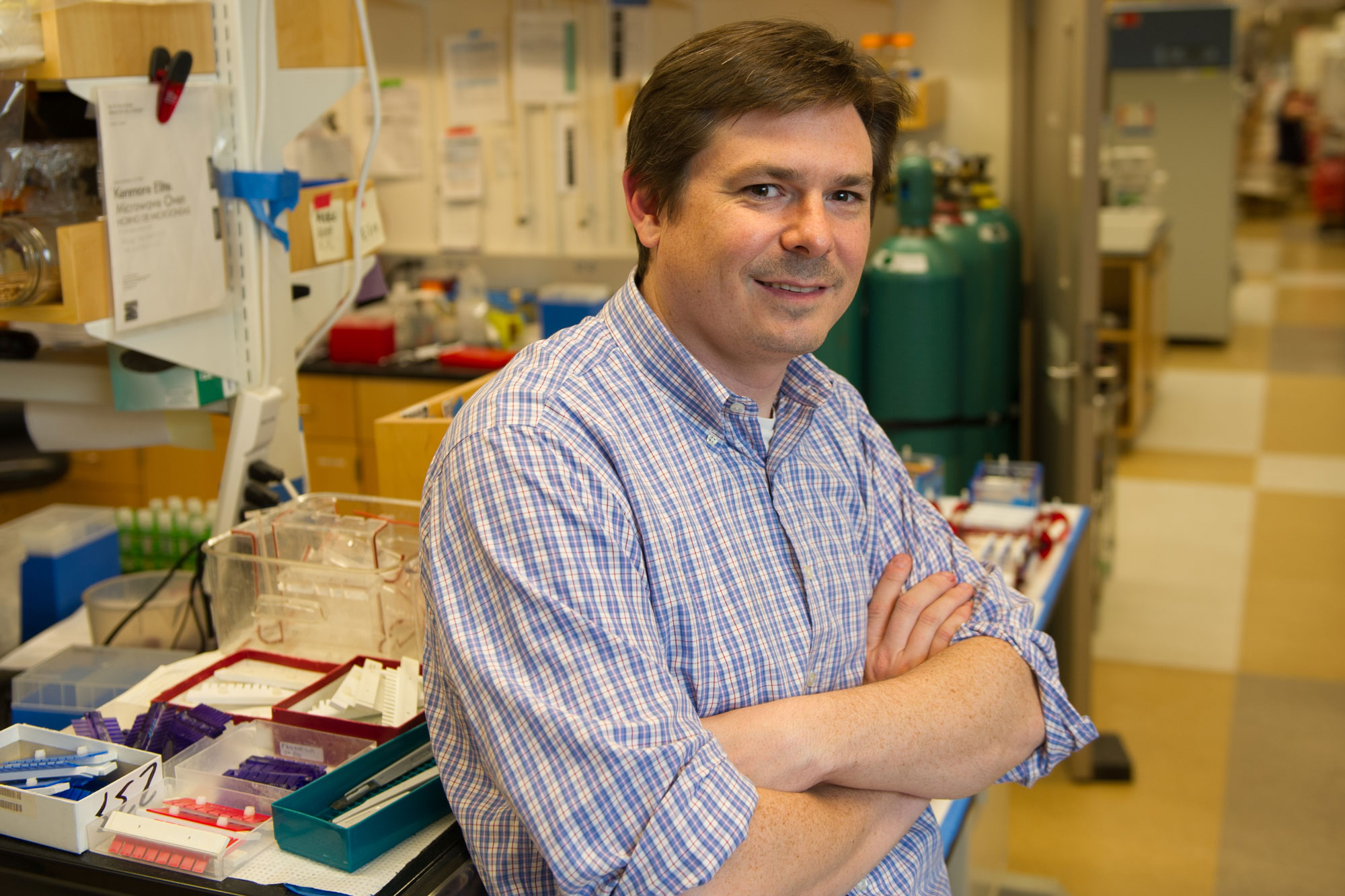 Christopher Voigt, professor of biological engineering