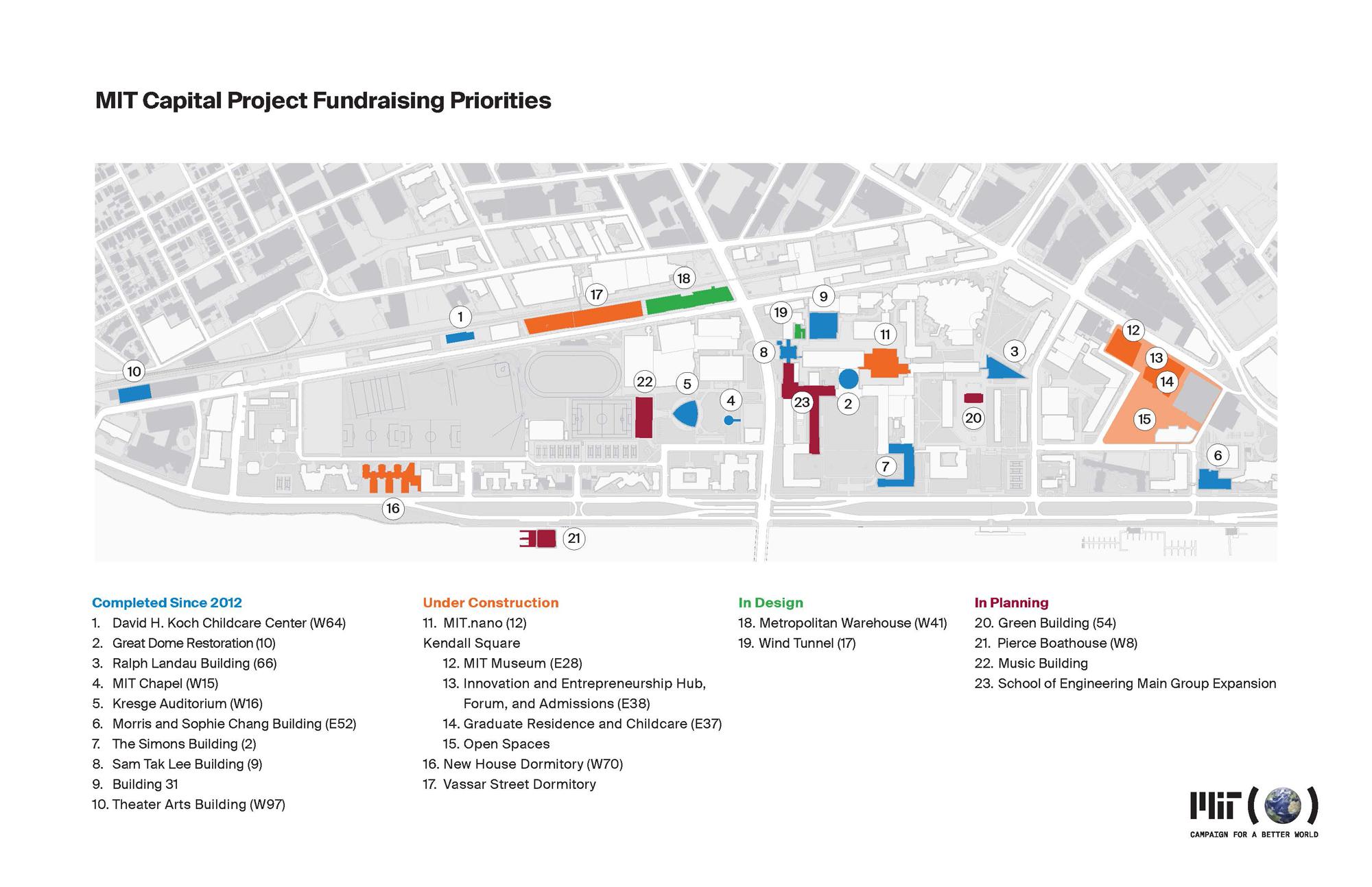 Vassar Campus Map. Mit Campus Map Building The Green ...