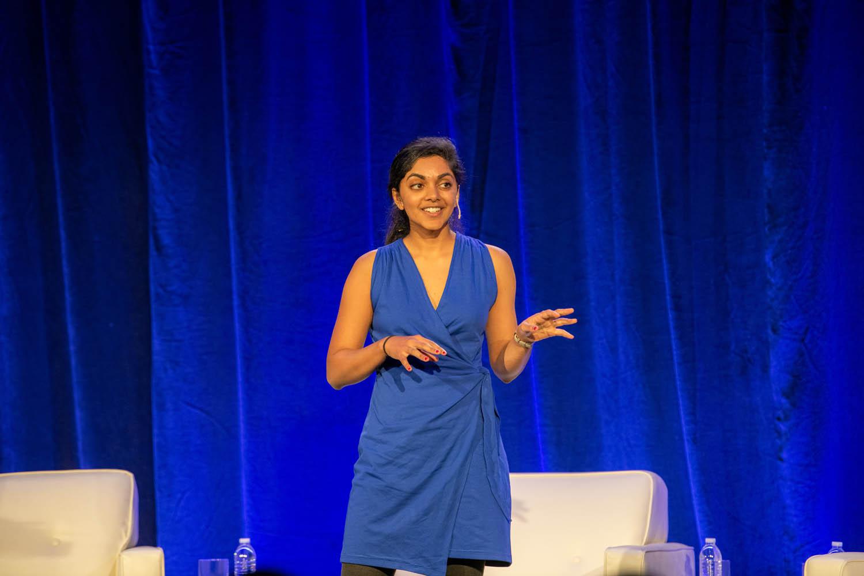 Harini Suresh at the Atlanta Better World Roadshow