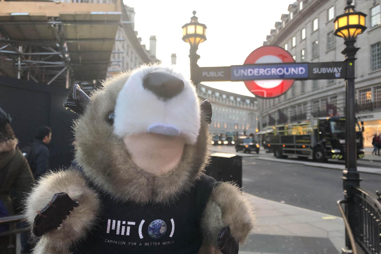 MIT's TIM at the London Underground