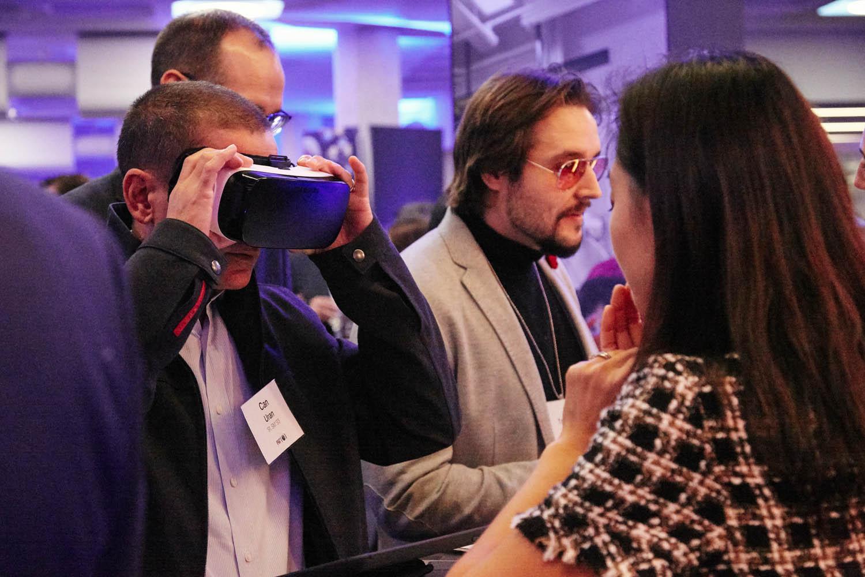 Alternative reality demo at the London Roadshow