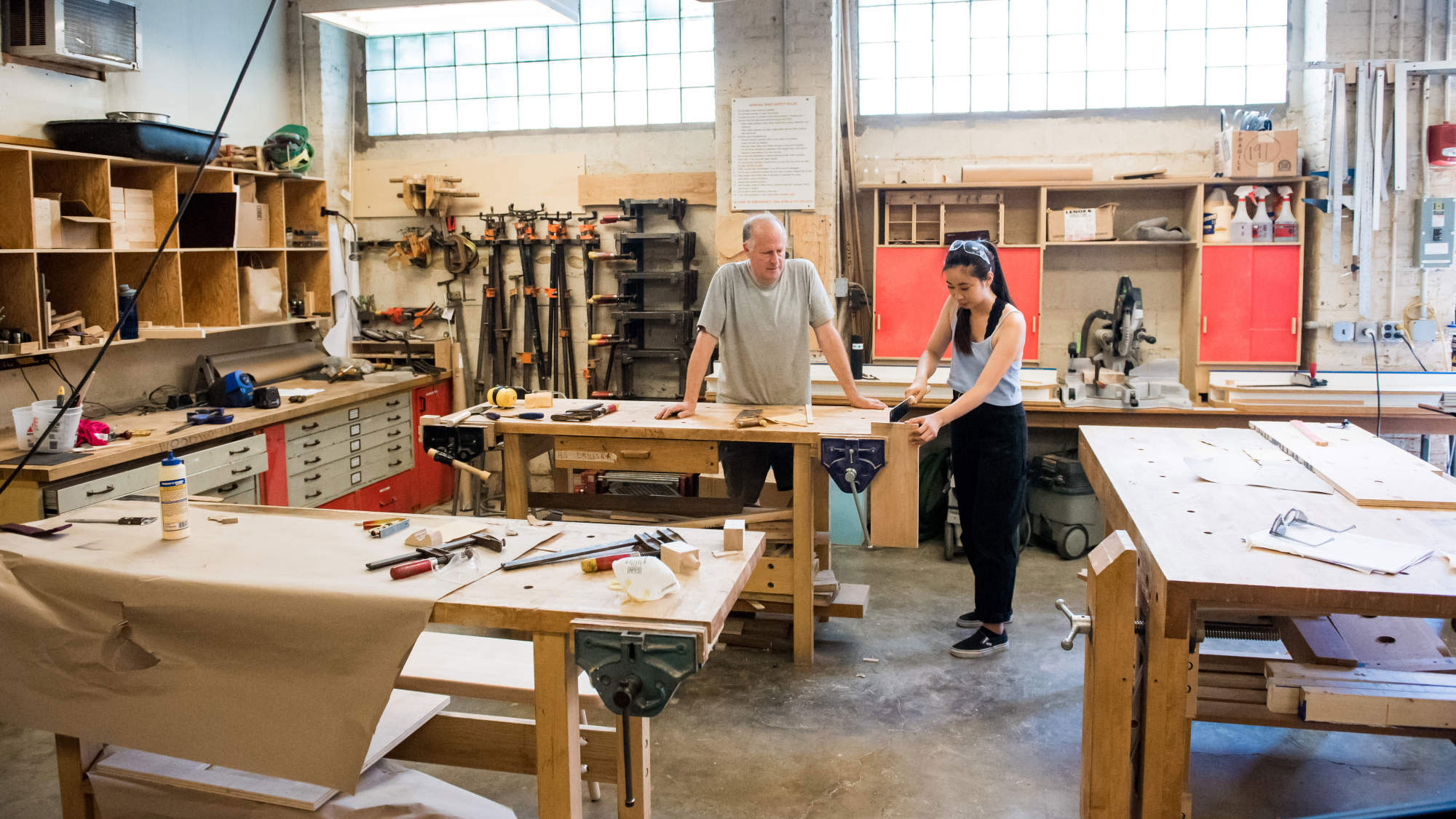Department of Architecture woodshop