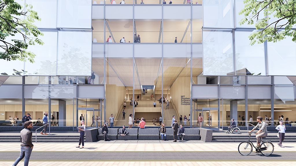 MIT Stephen A. Schwarzman College of Computing building
